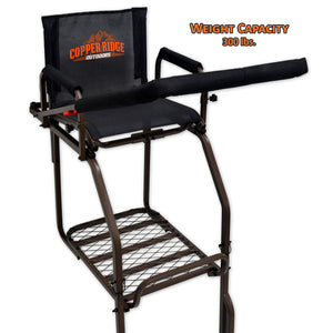 hunting stand with 300 pound weight capacity