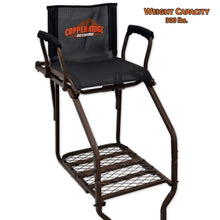 ladder stand seat capacity of 300 pounds