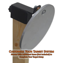 Copper Ridge Outdoors angled target holder complete setup