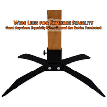 Copper Ridge Outdoors on-ground target stand base with 2x4