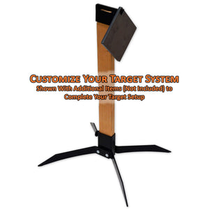 Copper Ridge Outdoors 2x4 topper with target hook complete setup