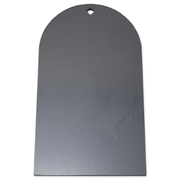 Copper Ridge Outdoors tombstone steel plate shooting target