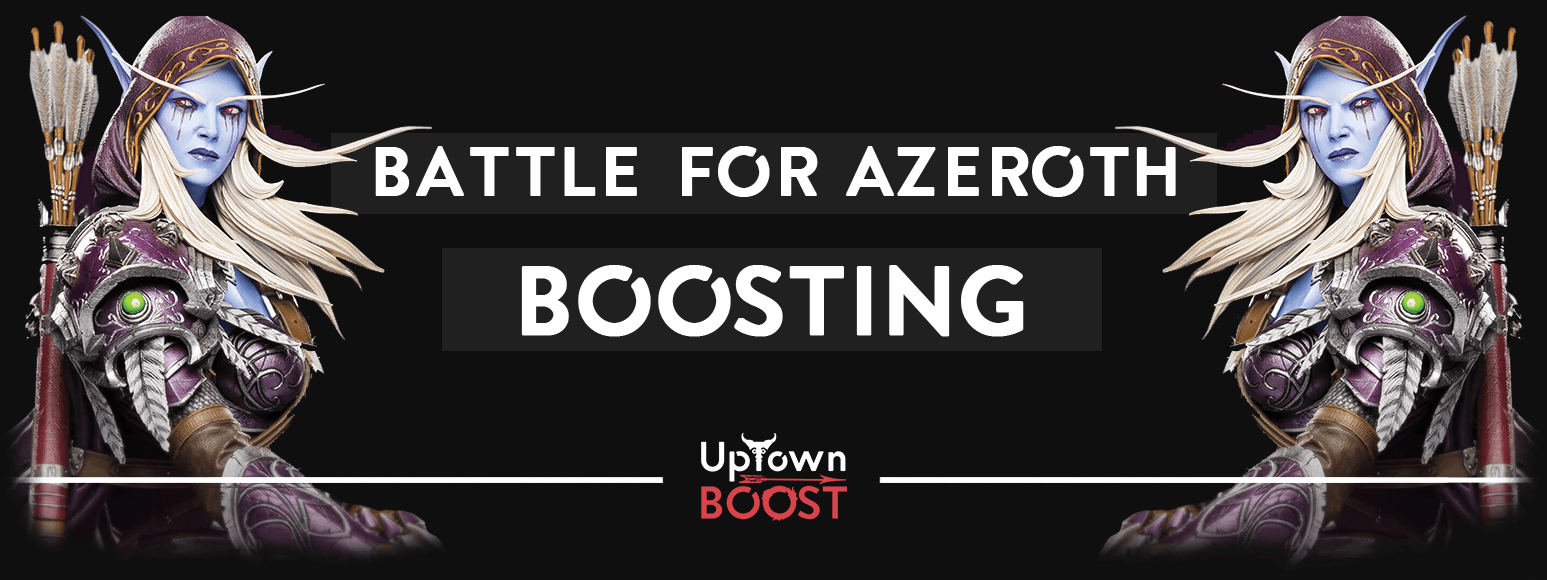Buy battle for azeroth boost - uptownboost.com