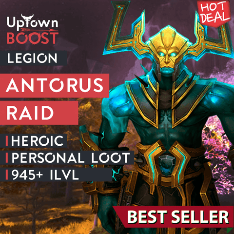 Buy Antorus Heroic Personal Loot Full Run Boost - UptownBoost