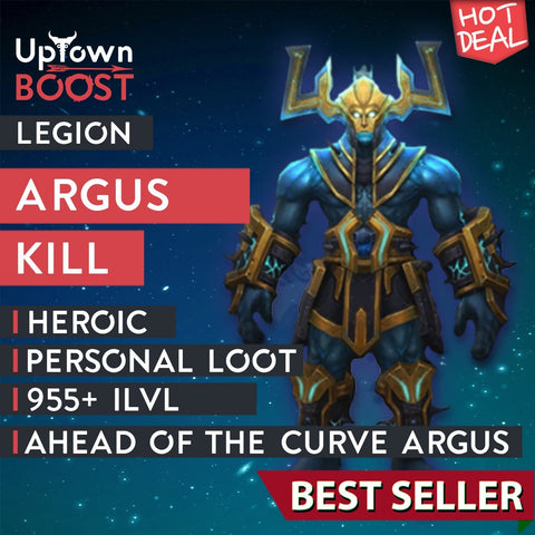 Buy Argus the Unmaker Heroic Kill Boost - UptownBoost