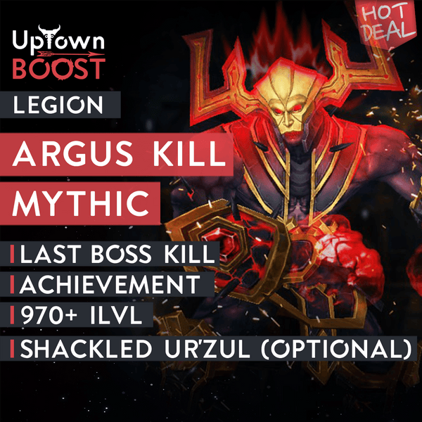 Buy Argus the Unmaker Mythic Kill Boost - UptownBoost