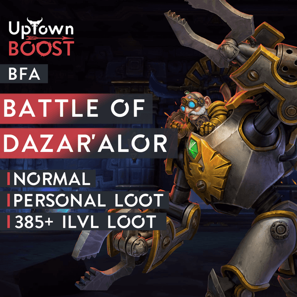 Buy Battle of Dazar'Alor Normal Boost Boost - UptownBoost