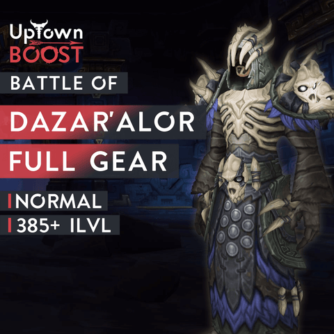 Buy Battle of Dazar'Alor NORMAL Full Gear Boost Boost - UptownBoost