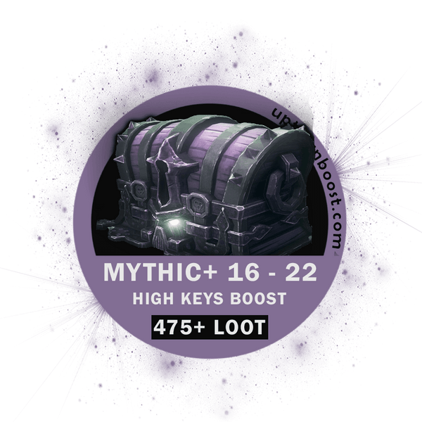 Buy BFA Mythic+ 16-22 High Keys - Season 4 Boost - UptownBoost