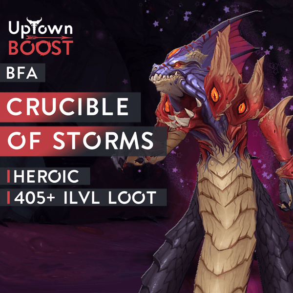 Buy Crucible of Storms HEROIC Boost Boost - UptownBoost