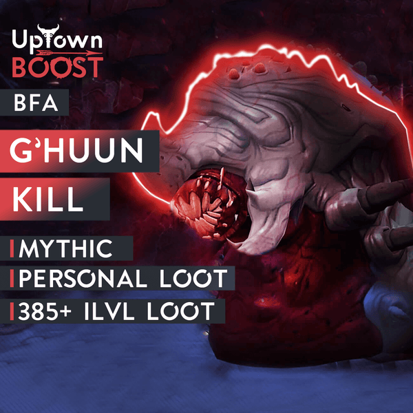 Buy G'huun Mythic Kill Boost Boost - UptownBoost