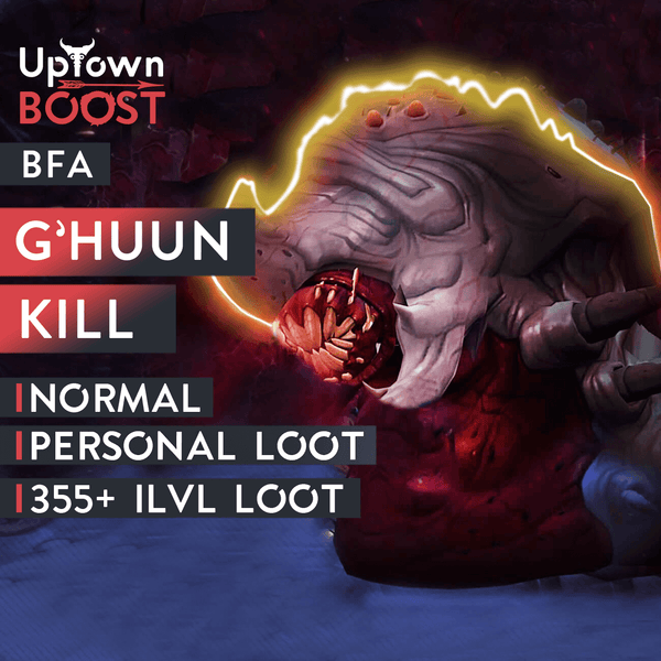 Buy G'huun Normal Kill Boost Boost - UptownBoost