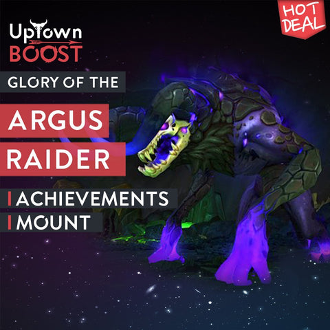Buy Glory of the Argus Raider Boost - UptownBoost