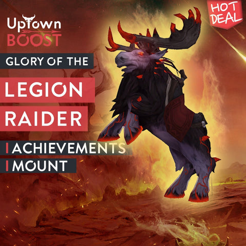 Buy Glory of the Legion Raider Boost - UptownBoost