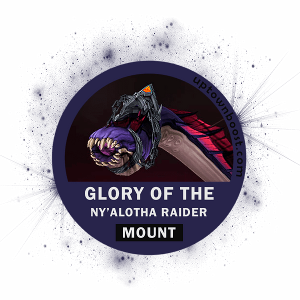 Buy Glory of the Ny'alotha Raider - Wriggling Parasite Boost - UptownBoost