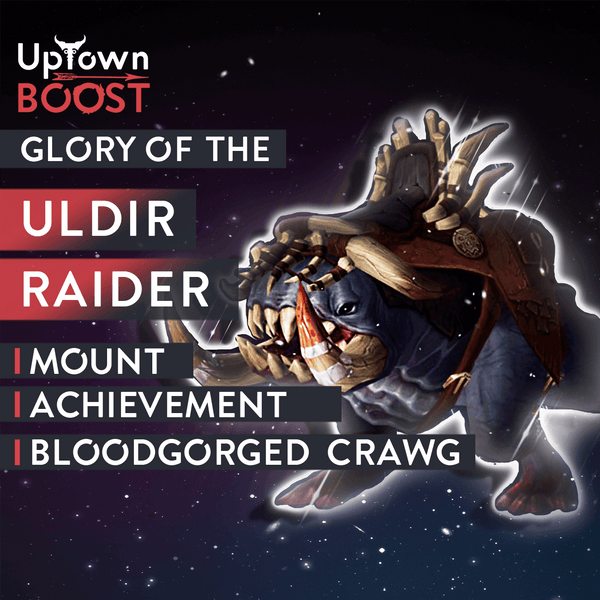 Buy Glory of the Uldir Raider Boost - UptownBoost