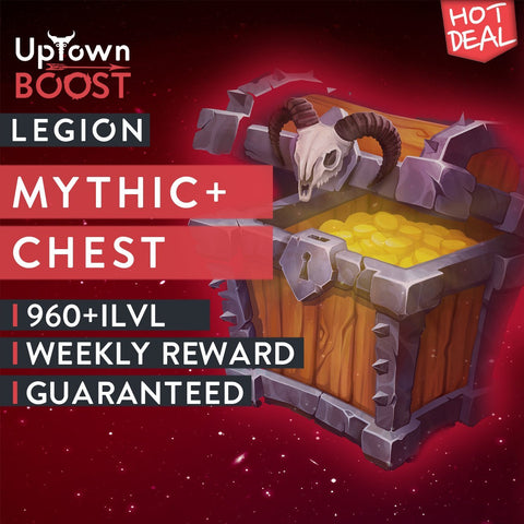 Buy Legion Mythic+ 16-18 Weekly Chest Boost - UptownBoost