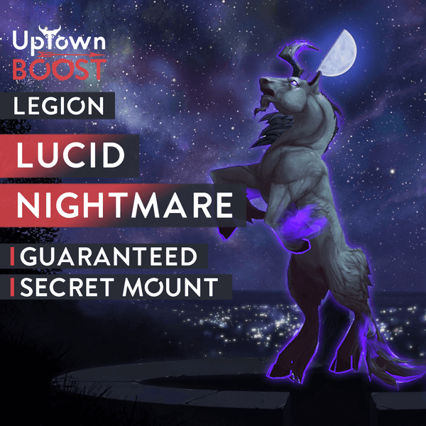Buy Lucid Nightmare Mount Boost - UptownBoost