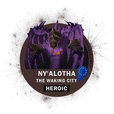 Buy Ny'alotha, The Waking City HEROIC [EU Servers] Boost - UptownBoost