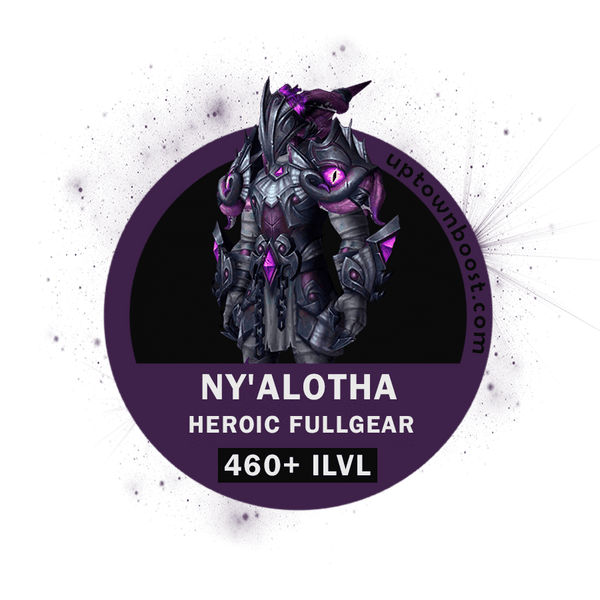 Buy Ny'alotha, The Waking City HEROIC Full Gear Boost - UptownBoost