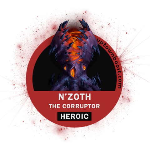 Buy N'zoth, The Corruptor HEROIC Kill [US SERVER] Boost - UptownBoost