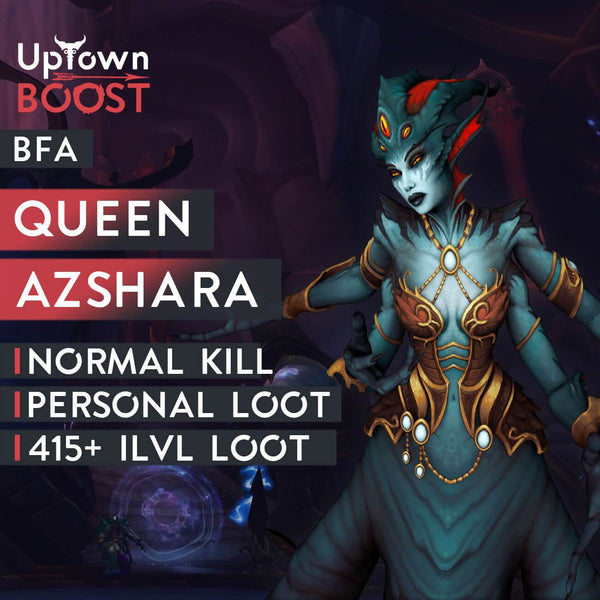 Buy Queen Azshara NORMAL Kill Boost - UptownBoost
