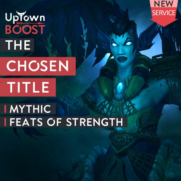 "Buy ""The Chosen"" Title - Achievement Boost - UptownBoost"