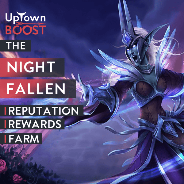 Buy The Nightfallen Reputation Boost - UptownBoost
