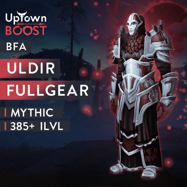 Buy Uldir Mythic Full Gear Boost Boost - UptownBoost