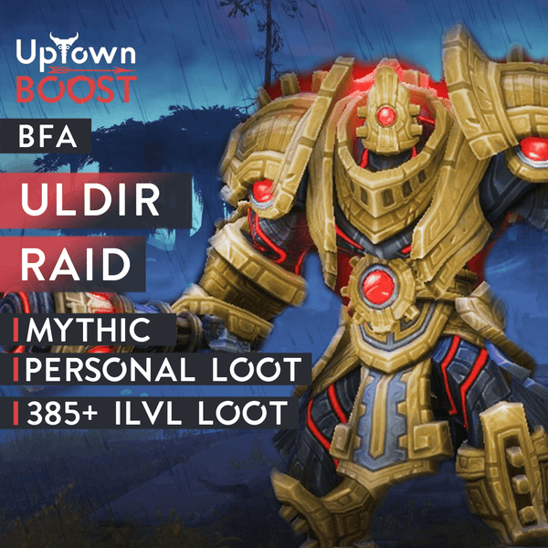 Buy Uldir Mythic Run Boost Boost - UptownBoost