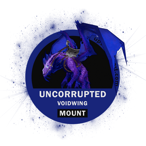 Buy Uncorrupted Voidwing - N'zoth Mount Boost - UptownBoost