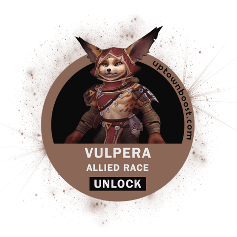 Buy Vulpera Allied Race Unlock Boost - UptownBoost
