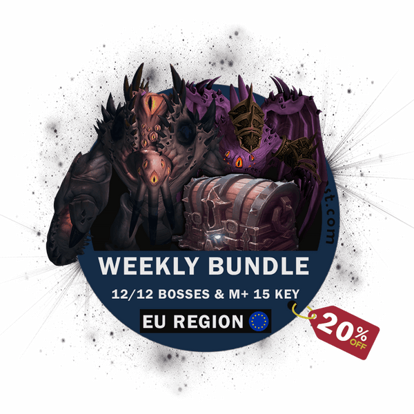 Weekly BUNDLE! Ny'Alotha HEROIC & Mythic+ 15 [20% OFF]