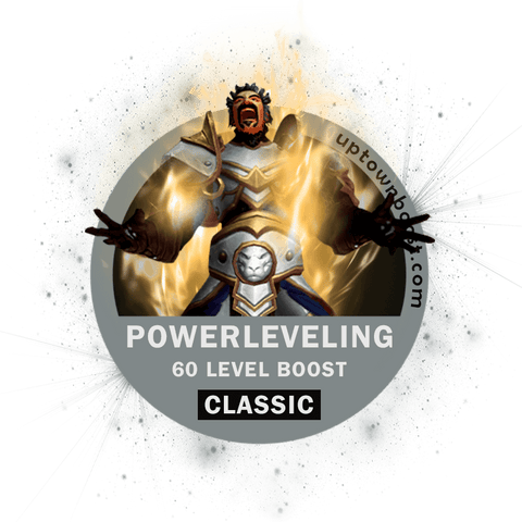 Buy WoW Classic LVL 60 Power Leveling Boost Carry - UpTownBoost.com