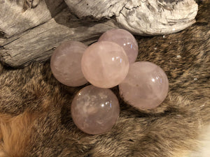 Rose Quartz Sphere Small