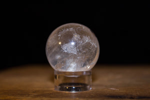 Quartz Sphere 1""