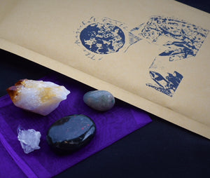 1 Month  Basic Subscription Box - Crystals Only