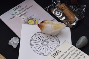 1 Month - Essential Subscription Box - Crystals, astrology, and tarot