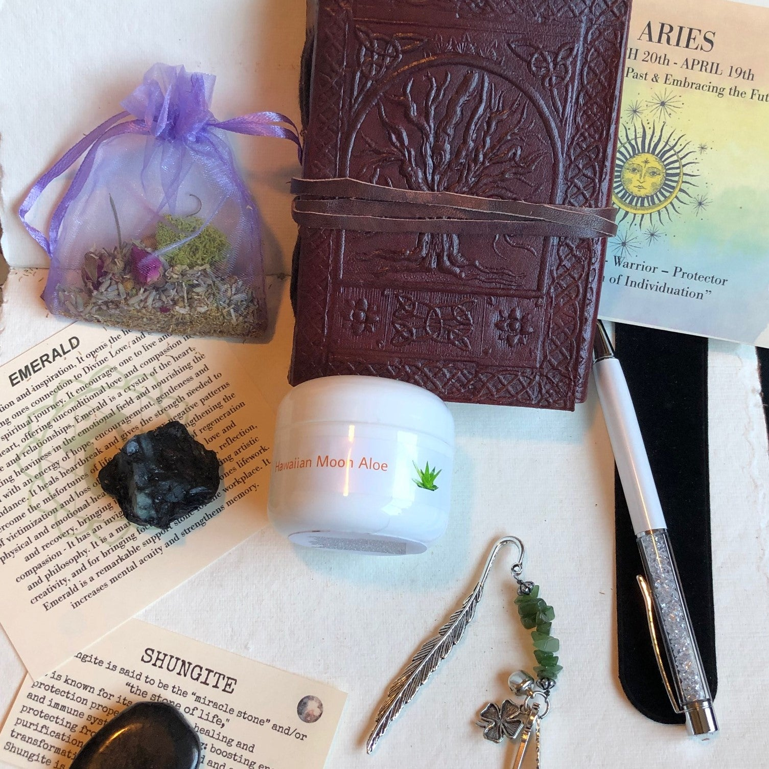 1 Month - Premium Subscription Box- Crystals, astrology, tarot, and