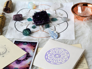 In Store Pick Up 1 Month - Premium Subscription Box- Crystals, astrology, tarot, and more!