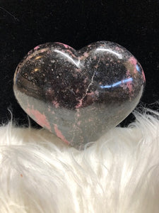 Rhodonite Heart # 4