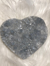 Celestite Heart Large