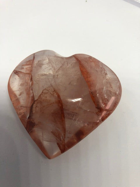 Red Quartz Heart #2
