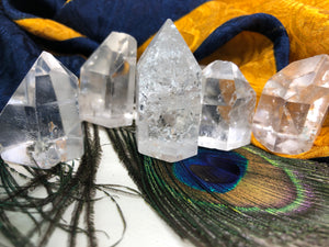 Lemurian Crystal Points