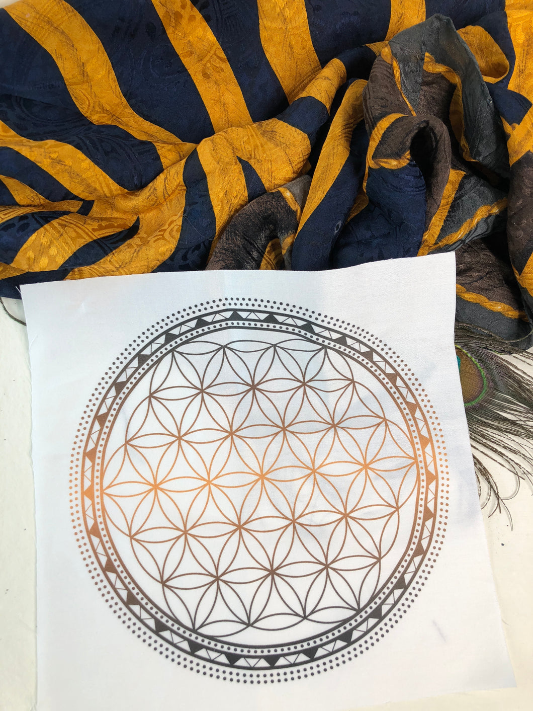 Crystal Grid-Flower of Life