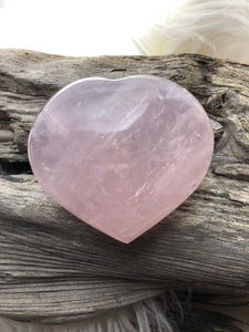 Rose Quartz Heart -23