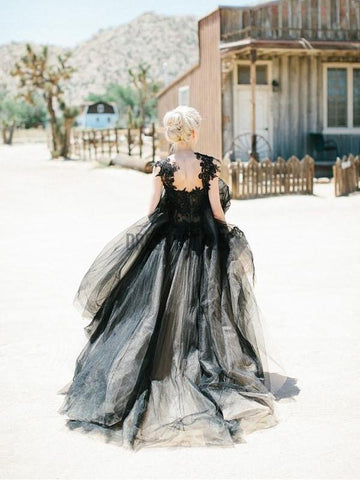 products/Black_Applique_Tulle_Elegant_Cheap_Evening_Long_P_4.jpg