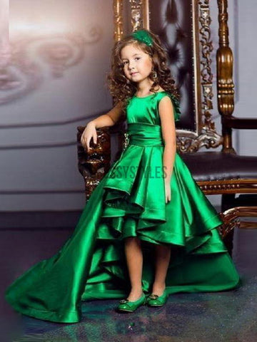 products/Green_Party_Dresses_For_Kids_High_Low_Cheap_Flower_Girl_Dresses.jpg