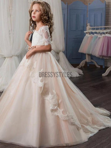 products/Half_sleeves_Lace_Tulle_Long_Flower_Girl_Dresses.jpg
