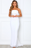 Strapless Mermaid Bridesmaid Dresses, Wedding Party Dresses, MD572